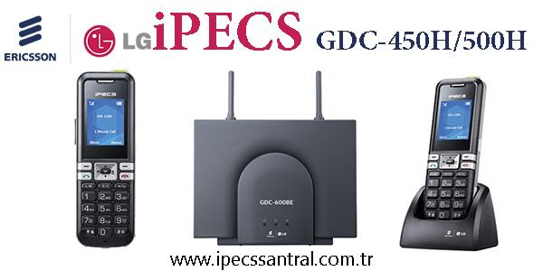 Ericsson LG IPECS Dect Çözümü Ipecs GDC-450H/500H Sistemi